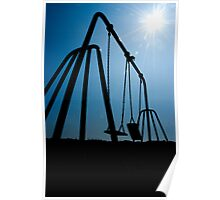 Swinging Silhouette Poster