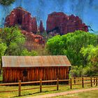 Sedona&#x27;s Cathedral Rock by Barbara Manis