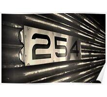 Train #254 Poster