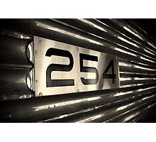 Train #254 Photographic Print