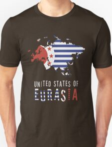 Map of Eurasia (The United States of) T-Shirt