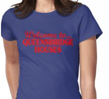 Welcome to... Queensbridge Houses Womens Fitted T-Shirt