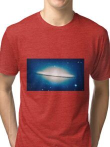 The little Galaxy (Majestic Sombrero Galaxy) Tri-blend T-Shirt