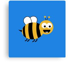 Funny Sweet Bee Canvas Print