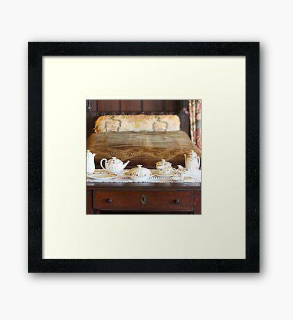 Bedside Tea Framed Print