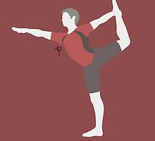 Wii Fit Trainer ♂ (Red) by ejstupid