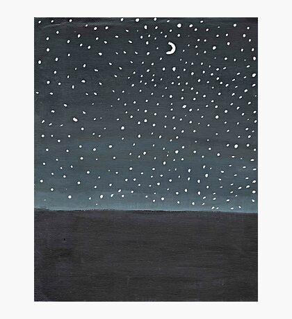 Stargazing ~ Galaxy Painting  Photographic Print