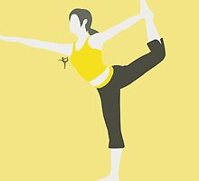 Wii Fit Trainer ♀ (Yellow) by ejstupid