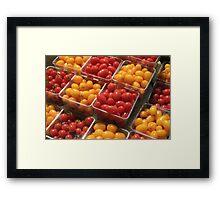 Farmers Market again Framed Print