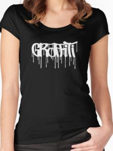 Graffiti Tag (Oldscholl underground style) Women's Fitted Scoop T-Shirt
