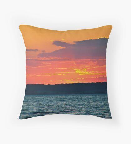 At dusk Throw Pillow