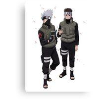 Naruto - Kakashi x Yamato Canvas Print
