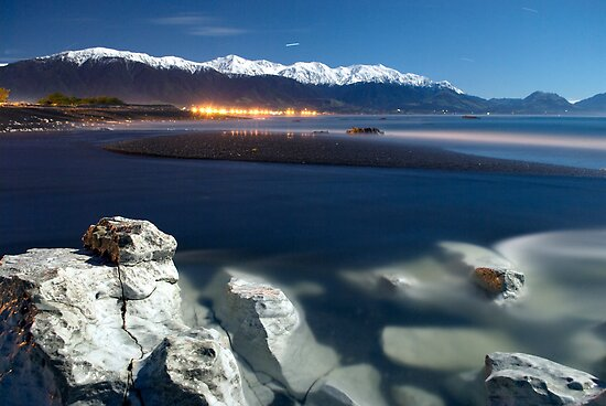 A Kaikoura night shot by Paul Mercer