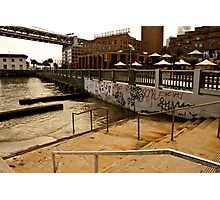 Stairs into Water, San Francisco Photographic Print