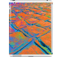 Square Stones Pathway Number 22 iPad Case/Skin