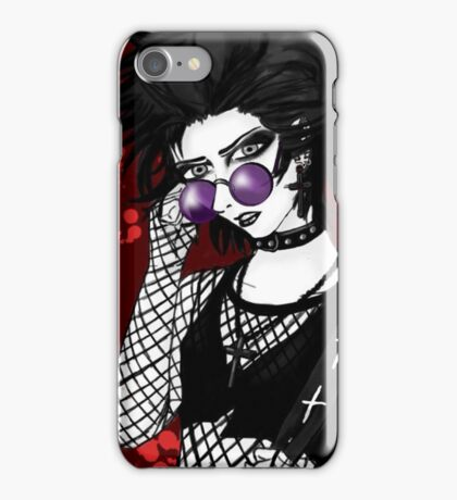 October the Vampire iPhone Case/Skin