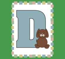 D is for Dog Kids Tee