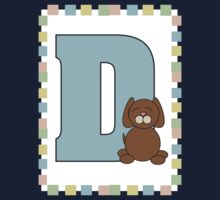 D is for Dog Baby Tee