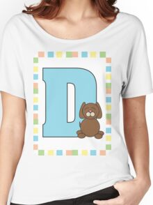 D is for Dog Women's Relaxed Fit T-Shirt