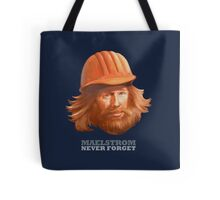 EPCOT Norway Pavilion MAELSTROM NEVER FORGET - Retro Disney - Construction Guy Tote Bag