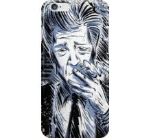 David Lynch Art illustration wild at heart eraserhead eraser head avant garde smoking twin peaks mulholland drive lost highway Joe badon iPhone Case/Skin