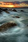 Dusk Whirlpools by Ken Wright