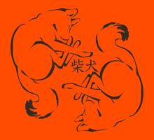 Shiba Inu Ink Baby Kids Tee