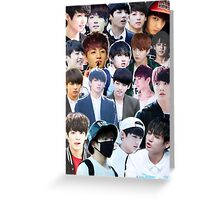 Jungkook Greeting Card