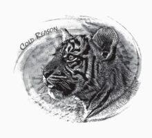 Tiger B&W Baby Tee