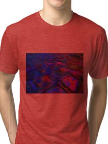 Square Stones Pathway Number 30 Tri-blend T-Shirt