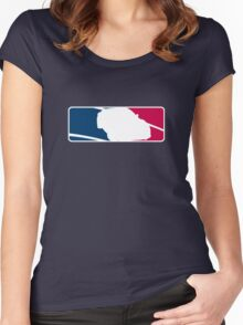 Major League Drifting BRZ / FRS / FT-86 Women's Fitted Scoop T-Shirt