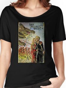 Princess Bride Art illustration drawing movie As You Wish 80's fantasy Wesley Valentine's present Robin Wright Penn Rob  Women's Relaxed Fit T-Shirt