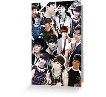 Jimin Greeting Card