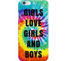 Girls/Girls/Boys Lyrics (Panic! At The Disco) iPhone Case/Skin