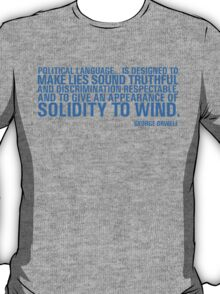 Political Language T-Shirt