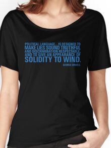 Political Language Women's Relaxed Fit T-Shirt