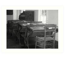 Historical Education Art Print