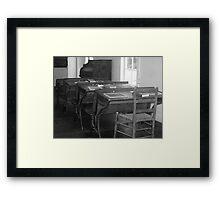 Historical Education Framed Print