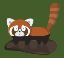 Dirty Lesser Panda by Daniel Espinola