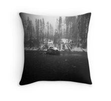 sentinel - Yellowstone NP Throw Pillow