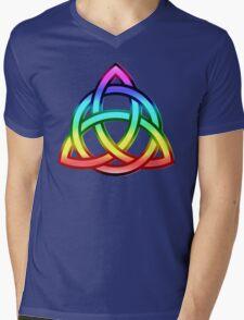 Triquetra (Trinity Knot) Mens V-Neck T-Shirt