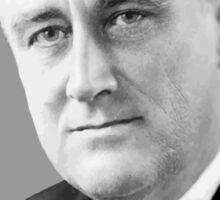 Franklin Delano Roosevelt  Sticker