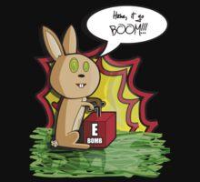 E-Bomb Bunny by Sean Cuddy