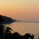 August Sunset by Jennie L. Richards