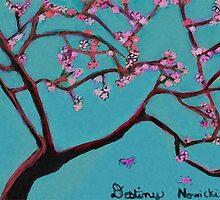 cherry blossom by Destiny Nowicki