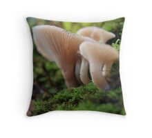 Delicate Bush Beauty Throw Pillow