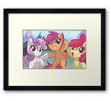 Cutie Mark Crusaders  Framed Print