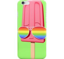 Rainbow Vision - Red Popsicle iPhone Case/Skin