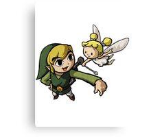 The Legend Of Zelda : Wind Waker - Link Canvas Print