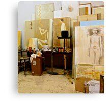 Artists Studio Canvas Print